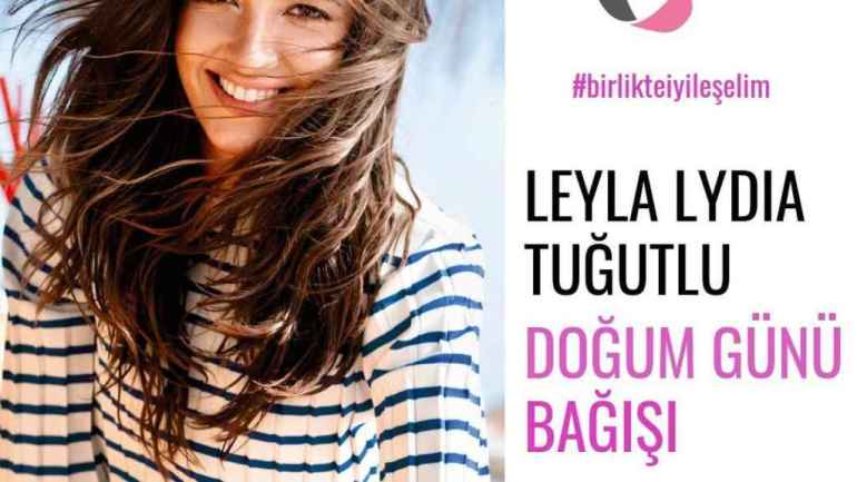 The actress has collaborated with an association against childhood cancer.
