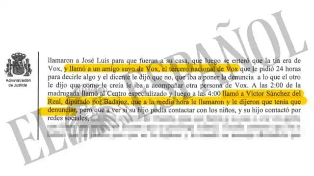 """Declaración de Loic """"El Francés"""" en el juzgado de Collado Villalba. Fuente: El Español"""