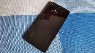 The rear of the Xiaomi Mi 11 Lite