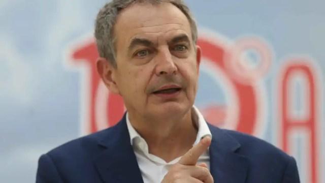 El expresidente del Gobierno de España, José Luis Rodríguez Zapatero.
