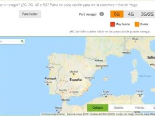 Yoigo mapa 5G