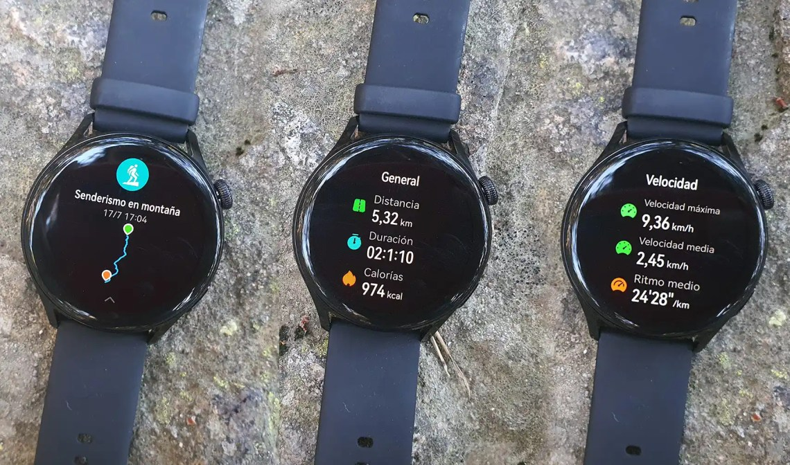 Datos que da el Huawei Watch 3