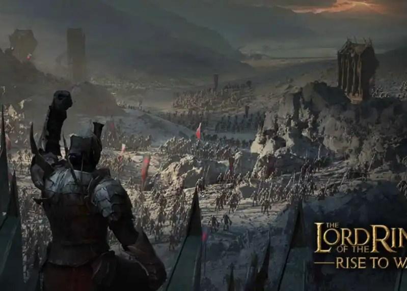 The Lord of the Rings: Rise to War ya tiene disponible su página de registro previo