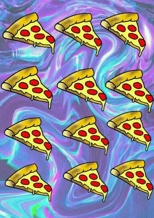 Background Hipster Pizza