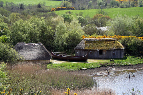 ireland, national heritage park, viking village