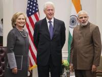 Clintons laud PM Modi's ambitious plan to clean River Ganga