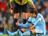 Manchester City's David Silva out of Manchester derby