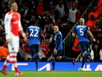 Champions League: Berbatov returns to haunt Arsenal, Leverkusen edge Atletico