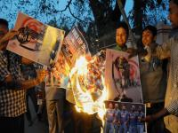 Burning effigies to deserted roads: Indian cricket fans react to India's WC loss