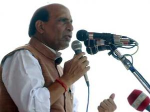 BJP to remain strong despite Cong's efforts: Rajnath Singh