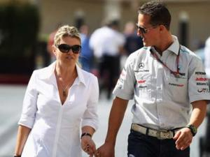 Schumacher's wife Corrine asks media to 'leave family and doctors alone'