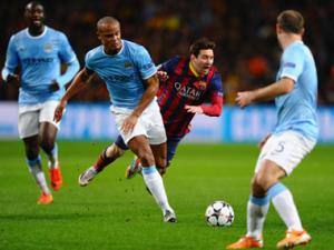 Champions League: Stunning stats from Man City vs Barca