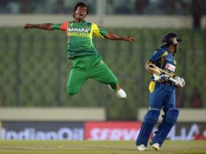 Asia Cup: Mathews carries unbeaten Sri Lanka past plucky Bangladesh