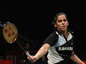 All England Championship: Saina wins but Sindhu crashes out