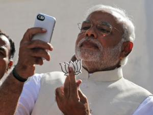 Mystery solved: Why Narendra Modi was holding a white lotus