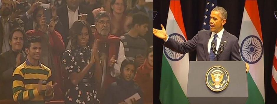 Live: Indian youth won't define nation, they will shape the world, says Obama