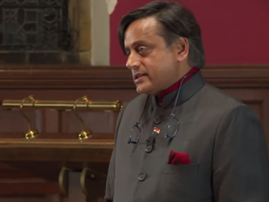 Britain does owe India reparations, says Tharoor. Screengrab from video.