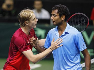 Image result for Davis Cup: After Ramkumar's decisive defeat, Yuki gets consolation win