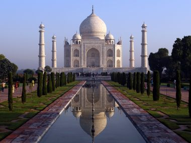 BJP MLA Sangeet Som said the Taj Mahal was a 'blot on Indian culture'. GettyImages