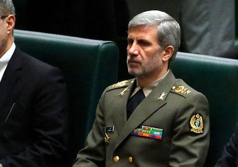 Defense Minister Amir Hatami