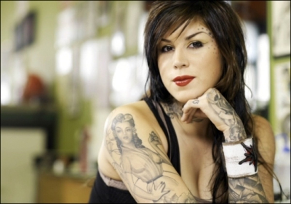 What is Kat Von D thinking?