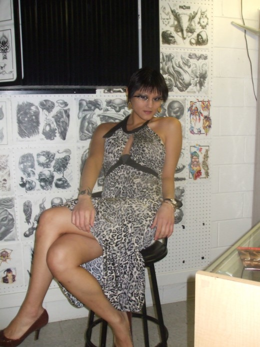 This is me at Dark Angel tattoos, in Austin Tx. I was suppose to do a photo