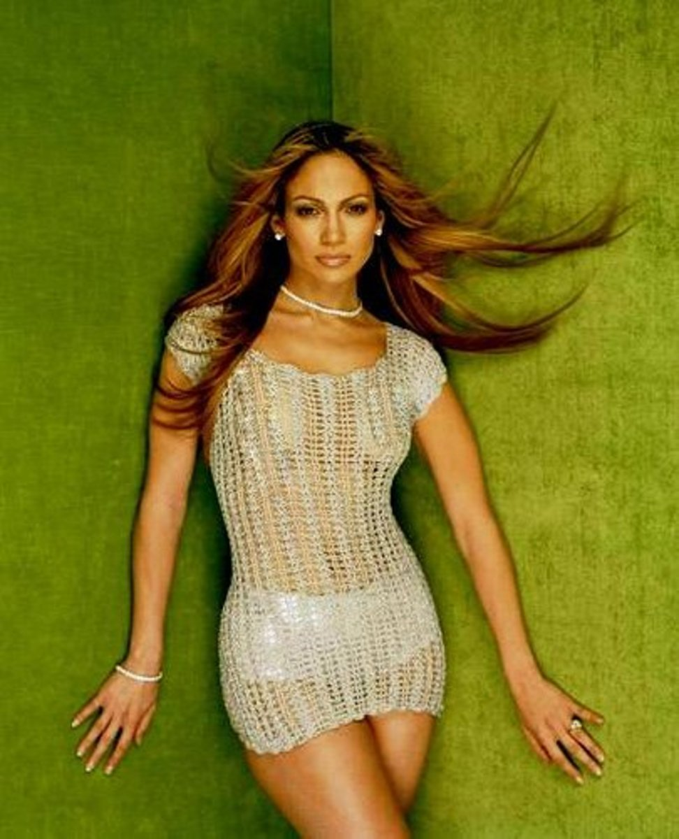 Clearly,  there is nothing sexy about 42 year old Jennifer Lopez with ultra long hair.