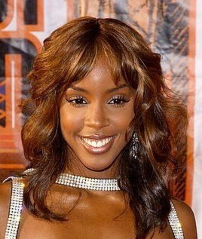 Honey Brown Hair Color On Black Women