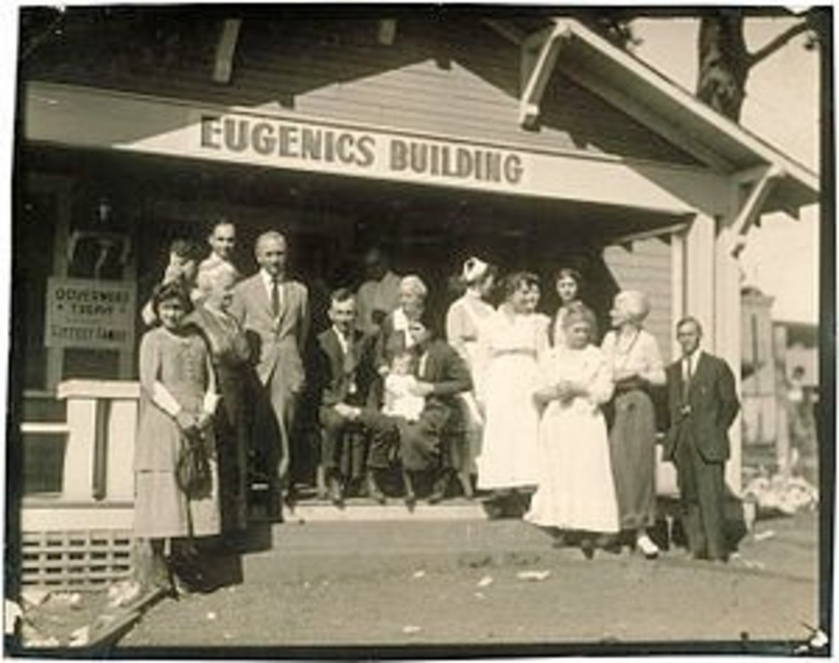The Eugenics movement is one of the most horrific parts of United States history.  Throughout the world, these programs have victimized millions.