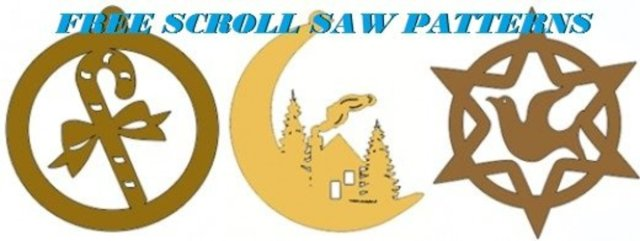 Scroll Saw Christmas Ornaments Free Patterns