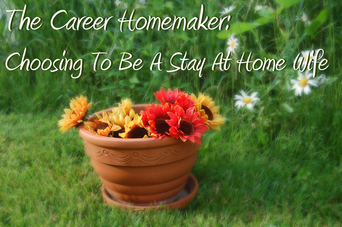 Career Homemaker-Choosing To Be A Stay At Home Wife-Even Without Children!