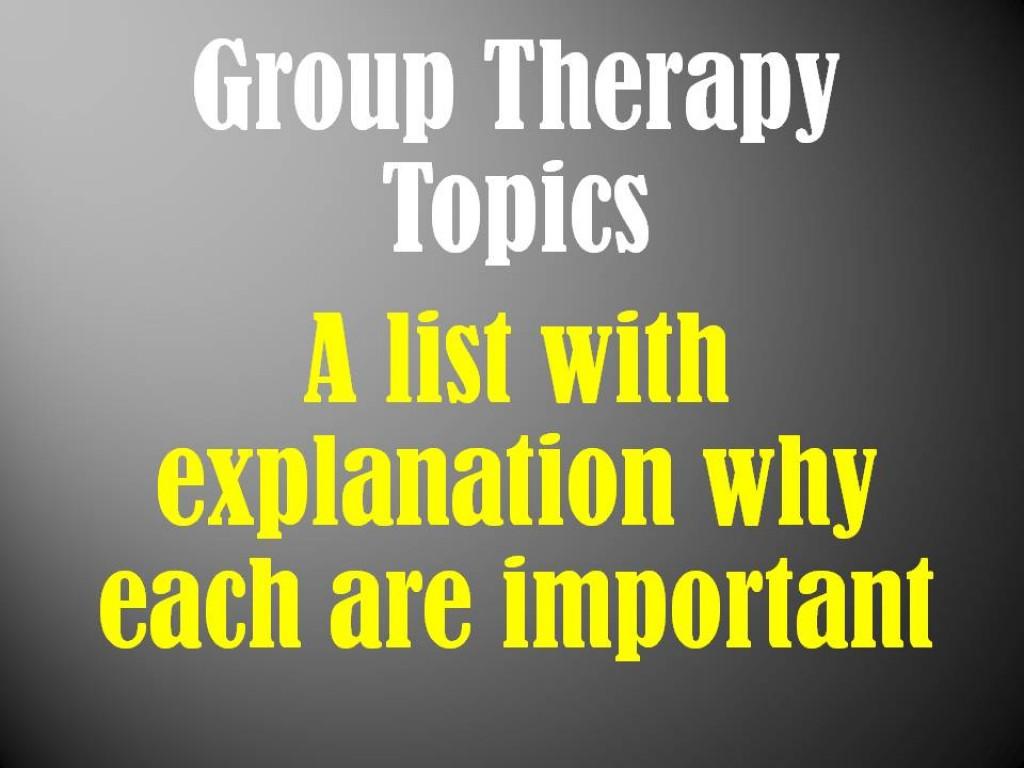 Mental Illness Mental Illness Group Activities