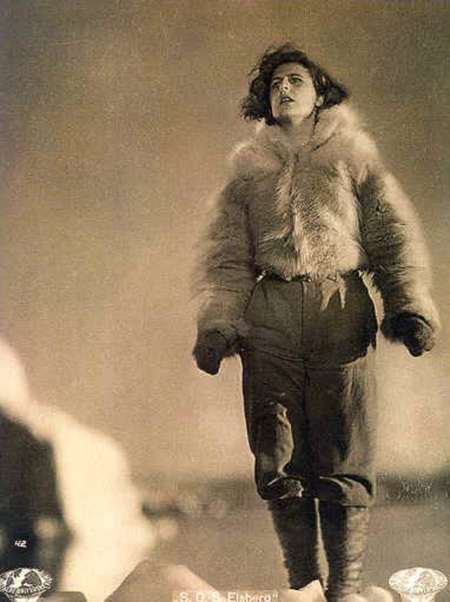 Riefenstahl exploited many people to establish her career in German berg or mountain films.