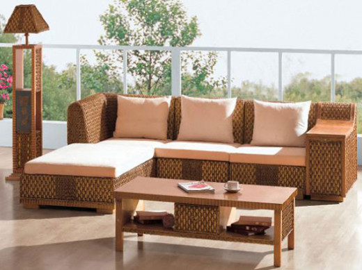 Cambiar la tela de los cojines de muebles de exterior - Cojines para jardin ...