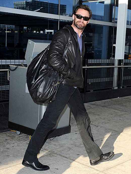 Hugh... its so not you! that looks more like a woman's Giant hobo bag, circa 80s or 90s!!