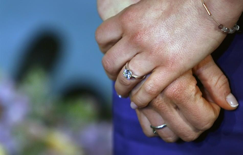 Royal Engagement And Wedding Rings Photos