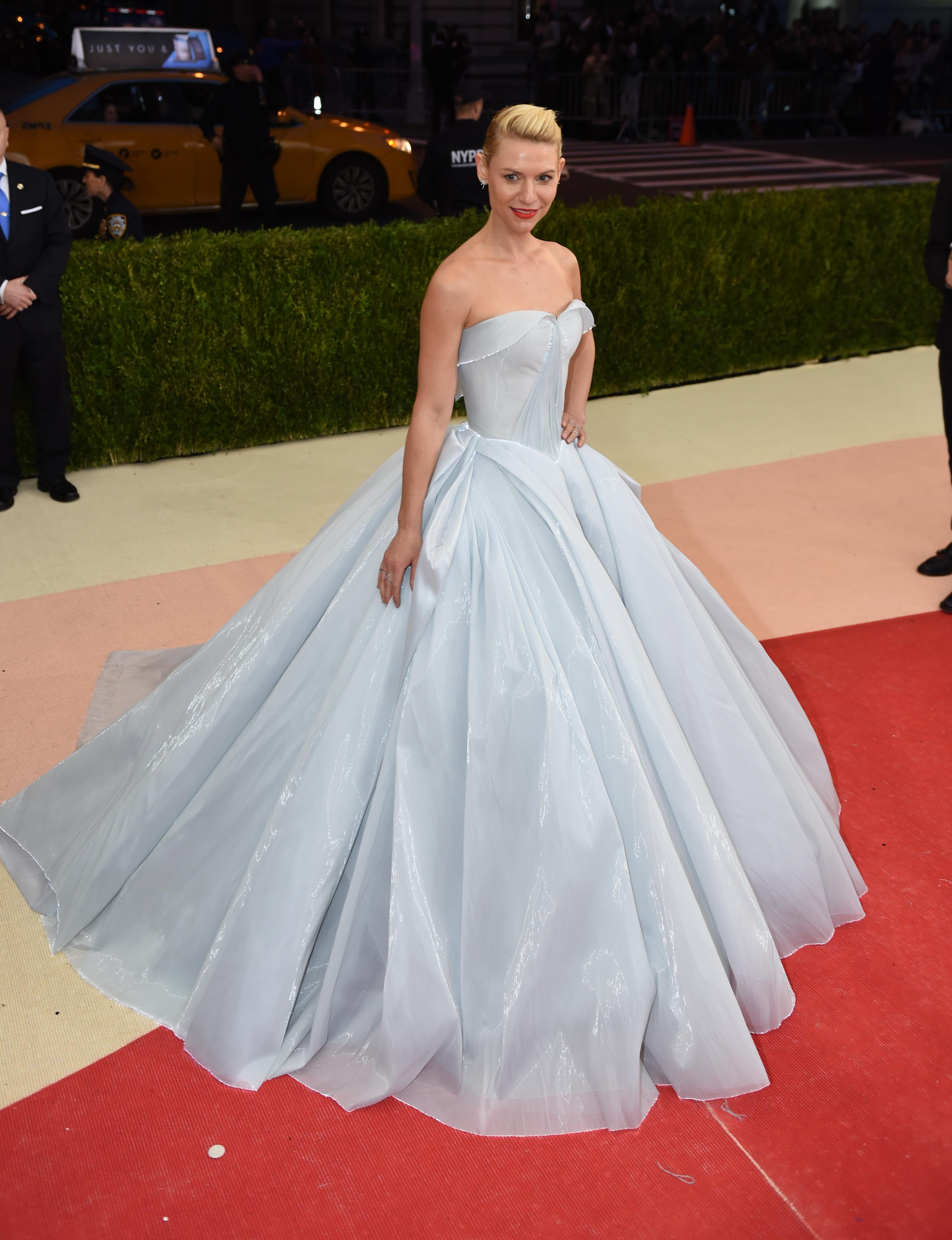 Claire Danes at Met Gala 2016