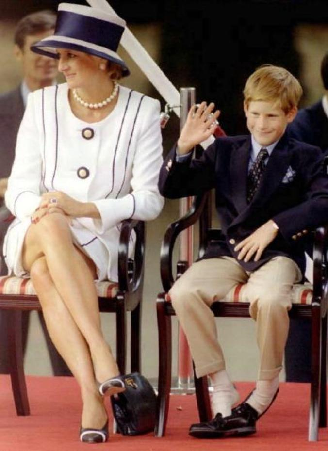 Princess Diana, Prince Harry