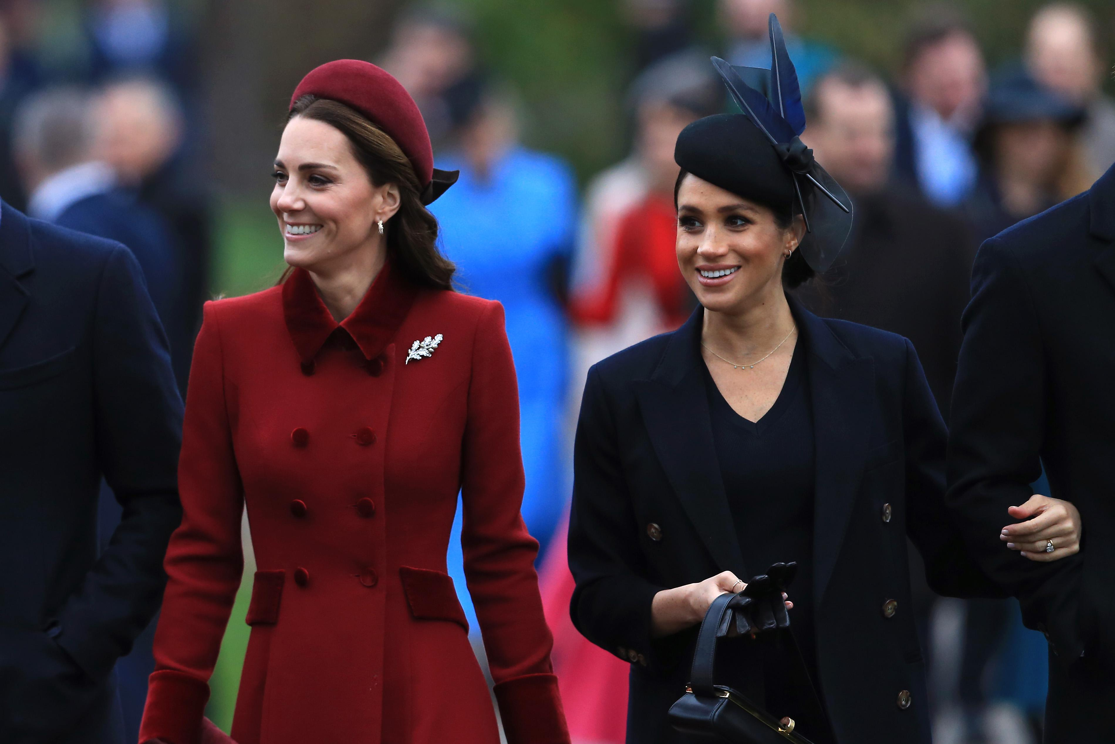 How Meghan Markle And Kate Middleton Ended Feud Over The Holidays