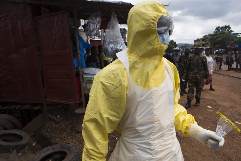 How To Report On Ebola Journalists Find Hazmat Suits A