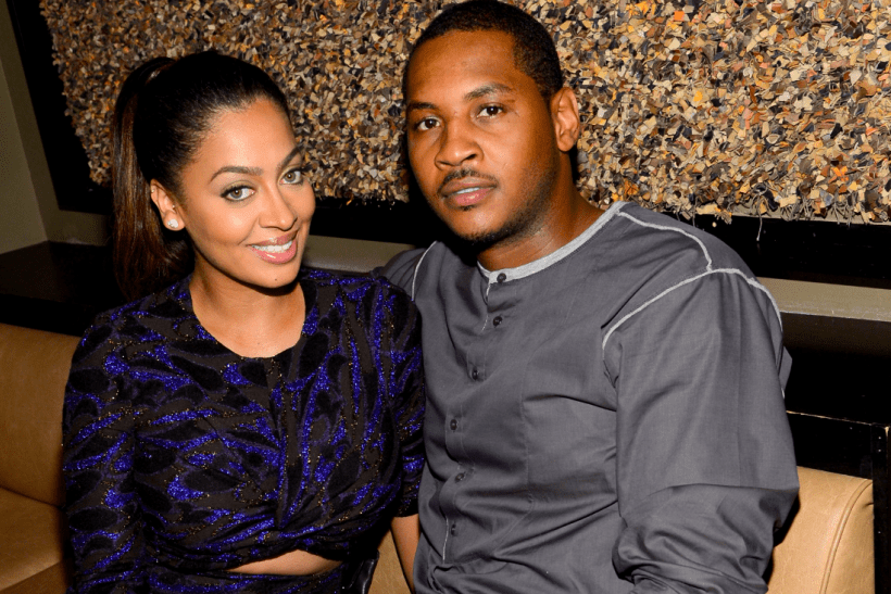Image result for lala and carmelo anthony