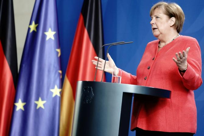 German Chancellor Angela Merkel has always stressed the importance of keeping communications open with Russia, but has in recent weeks sharpened her tone