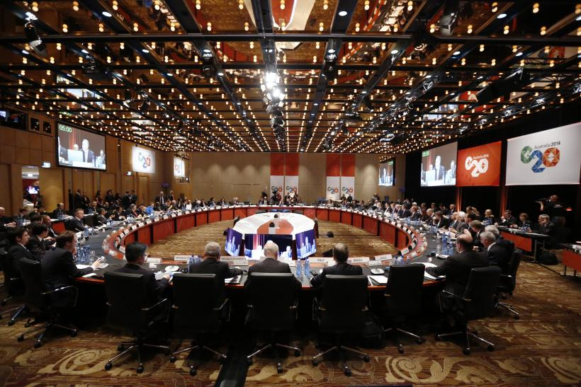 G-20 finance ministers and central bank governors gathered for their annual meeting in Sydney on Feb. 22, 2014