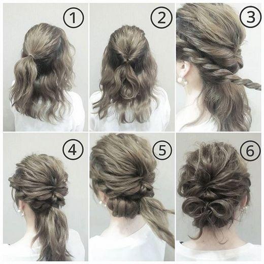 Mê mẩn với những kiểu búi tóc đẹp lung linh mà cực đơn giản đón Tết