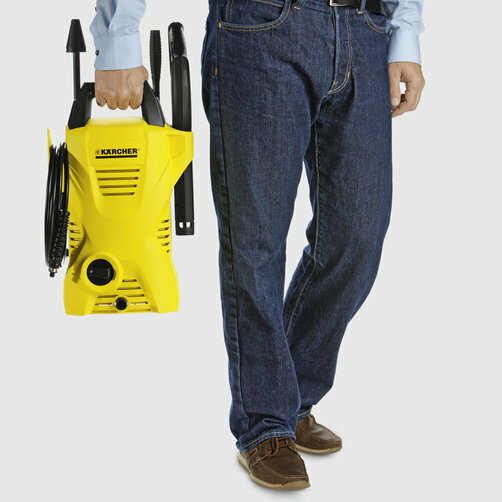 High pressure washer K 2 Compact: Sits comfortably in the hand
