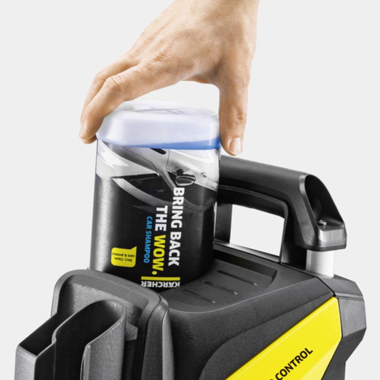 K 5 Power Control Home: Plug 'n' Clean System - смяна на почистващия препарат с едно движение.