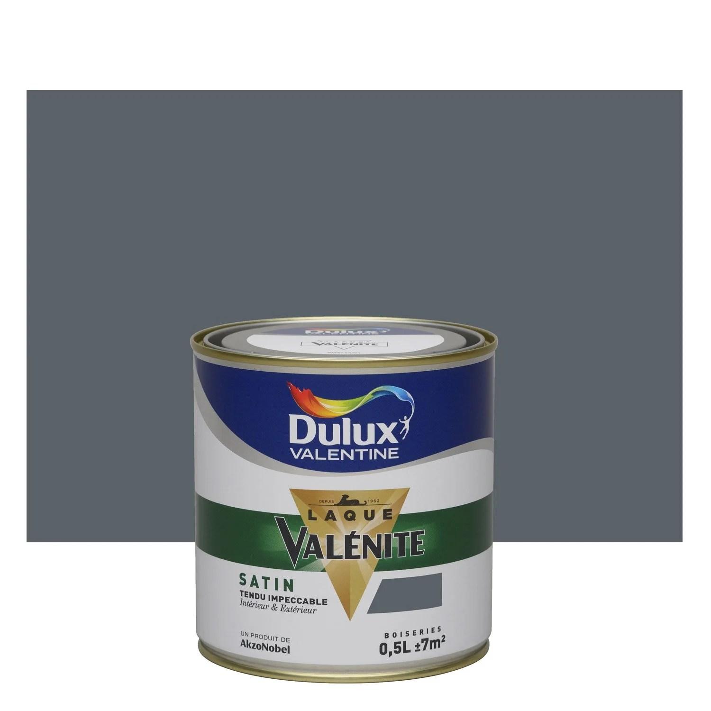 Peinture Anthracite Satin DULUX VALENTINE Valnite 05 L