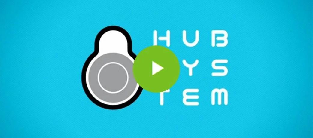 hub system etagere rangement au