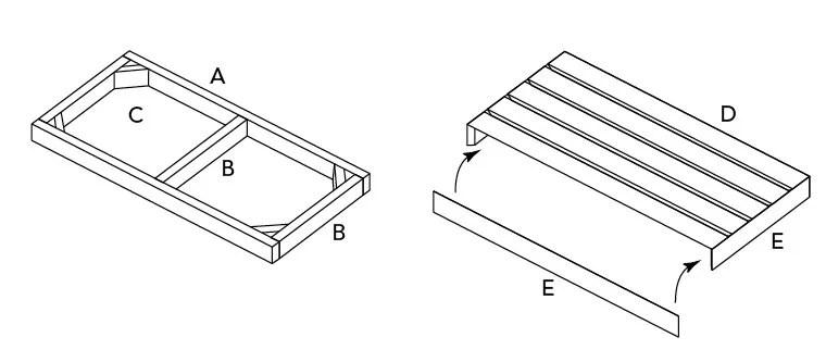 Comment Fabriquer Une Table Roulettes Et Une Banquette