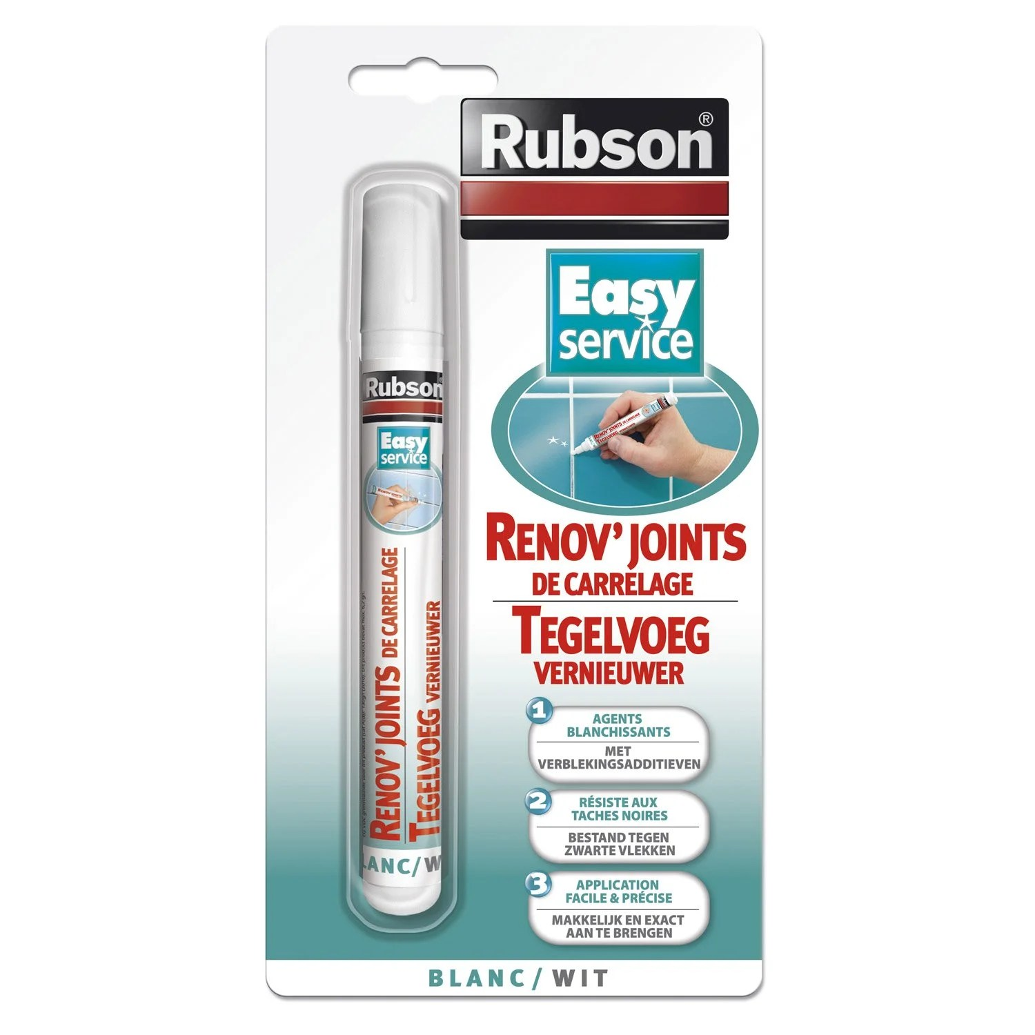 Rnovateur Joints De Carrelage RUBSON 7 Ml Leroy Merlin